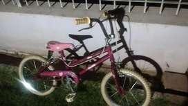 Bici de Nena Bmx