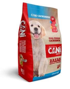 Balanceado Canimentos razas madianas a grandes Cachorros 25kg