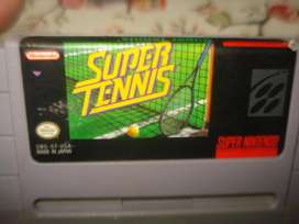 Juego Super Tenns Super Nintendo Snes Original Impecable!!