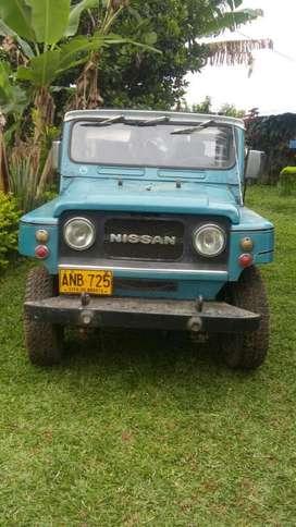 Vendo Nissan Patrol Modelo 81