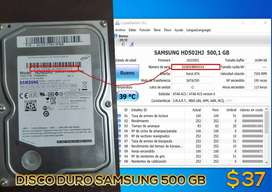 disco duro Samgung 500gb CPU