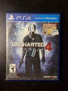 Uncharted4 PlayStation 4