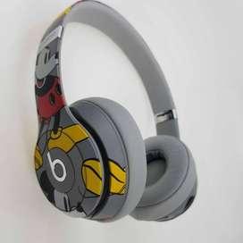 audifonos beats con diseño de mickey mouse , auriculares bluetooth