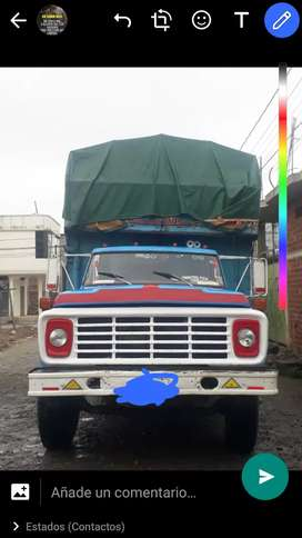 Se vende camion
