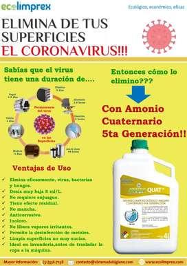 Amonio Cuaternario de Quinta Generación x 4 L