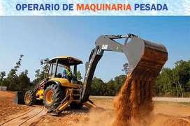 OPERARIOS DE MAQUINARIA PESADA