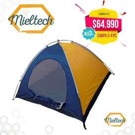 Carpa Camping 3 - 4 Personas tienda campaña
