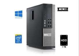 Dell Optiplex 3020  Core i7 - 16 GB RAM - 1TB Perfecto estado