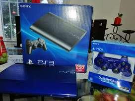 Playstation 3 super slim Edición Especial Azul