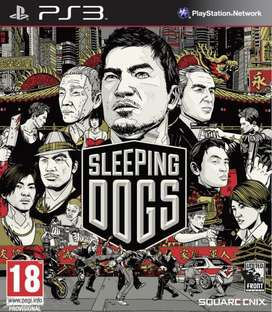 Sleeping Dogs para PS3, Solo Venta