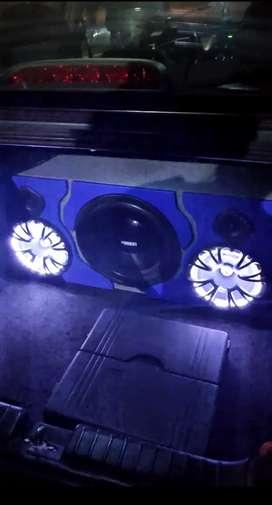 Planta Better Car Audio + Cajon fiestero (Nuevo) - Negociable