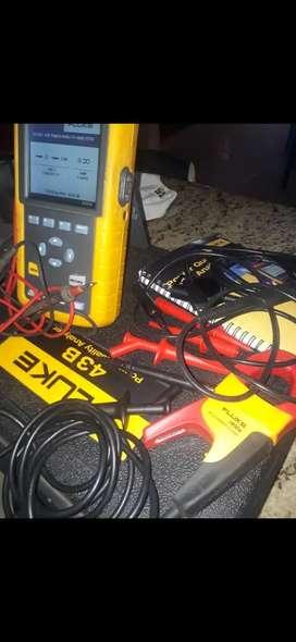 Fluke potencia calidad de energía 43B.