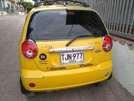 Vendo Taxi Spark 7:24 modelo 2014
