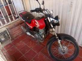 Moto Yamaha en buen estado