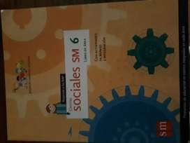 Libro CIENCIAS SOCIALES SM 6 LIBRO DE AREA