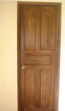 Fabricamos carpinterias, puertas madera maciza coloniales a precios bajos instalamos envíos nacionales