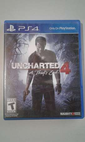 juego PS4 Uncharted 4 - A Thief's End-