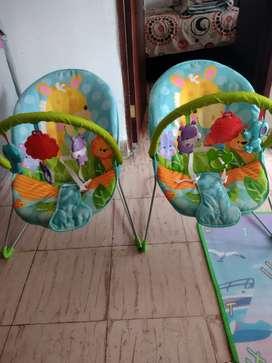 Vendo sillas de entretenimiento para bebes