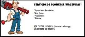 PLOMERO DE URGENCIA