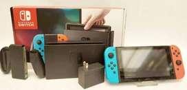 Nintendo Switch + Estuche Original + 4 Juegos