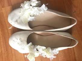 Zapatos para primera comunión talla 34