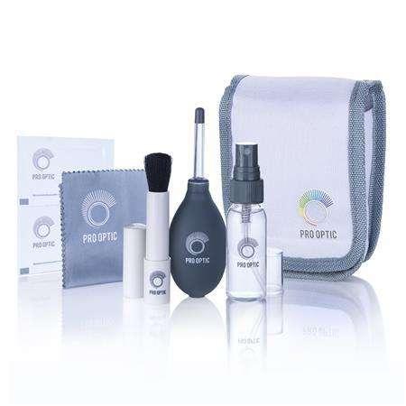 Prooptic Kit Limpieza Optica Camaras Y Videocamaras 0