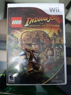 Película Nintendo Wii original Indiana jones 1