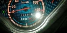 Vendo moto Akt special 110 Poco uso, motivo viaje