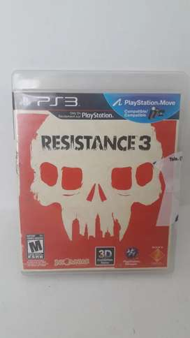 Resistence 3 ps3