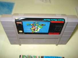 Juego Nintendosuper Mario World Sns Mw Usa 1 Made In Japan