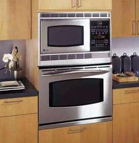 Torre de hornos: microondas + Horno 1 solo cuerpo