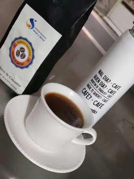 Café molido de exportación
