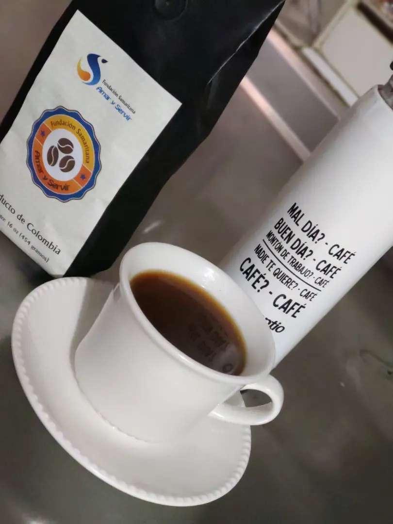 Café molido de exportación 0