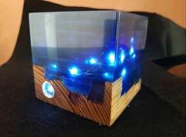 Lamparas LED de resina
