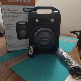 Parlante Bluetooth Bowmann