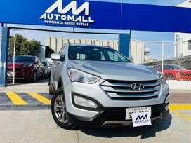 Hyundai Santa Fe 7 pasajeros 4x4 2014 automall
