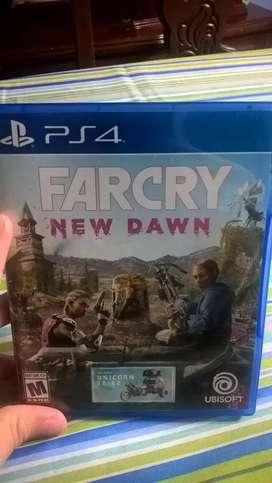 Far Cry New Dawn PS4 Juego Vendo o Cambio