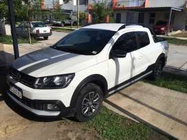 Vendo VW Saveiro Cross 2018 con GNC! Impecable!!