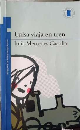Luisa viaja en tren