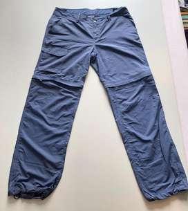 Pantalon desmontable Columbia talla 12 usado