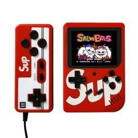 Sup Game Box Consola Videojuegos Retro Portátil 400 Juegos