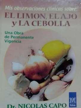 El limón, el ajo y la cebolla dr.Nicolas Capo