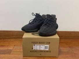 Adidas Yeezy Boost 350 V2 'black Non-reflective' Talla 9.5 US