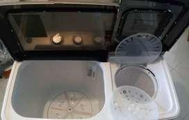Lavadora/secadora manual