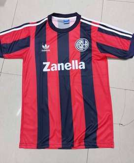 Camiseta retro san lorenzo zanella s al xxl