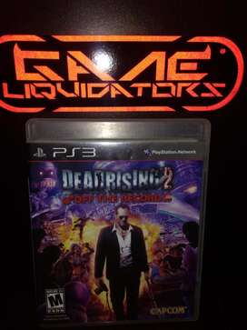 DEADRISING 2 OF THE RECORD PS3