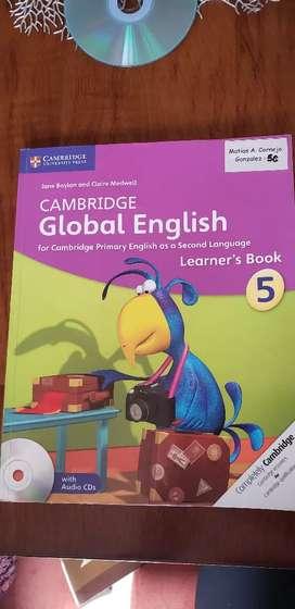Libro de inglés Cambridge Global English Stage 5 Learner's Book With Audio cds (2) (libro en Inglés)