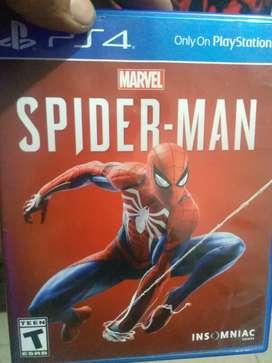 Se vende Spiderman PS4 en excelente estado