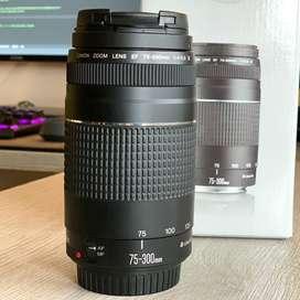 Objetivo Canon EF 75-300mm III