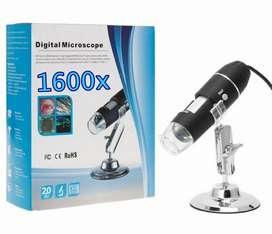 Microscopio Portatil Electronico Usb 1600x + OTG TIPO C